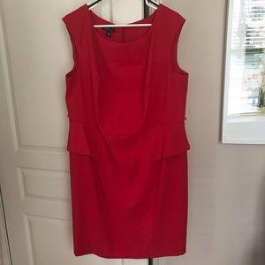 🔥 Gorgeous Alyx Red Peplum Sheath Dress 🔥